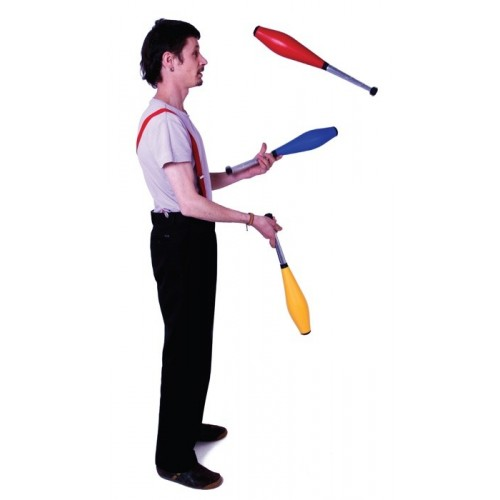 Butterfly juggling clubs