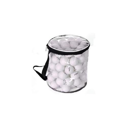 Pelota tenis mesa bolsa de 100 unidades