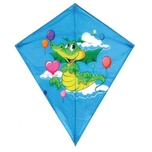 Diamond dragon kite