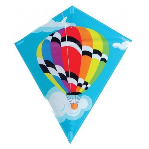 Diamond balloon kite