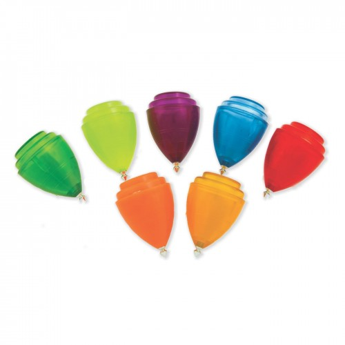 PS coloured Spinning top