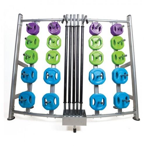 Double pump Set rack