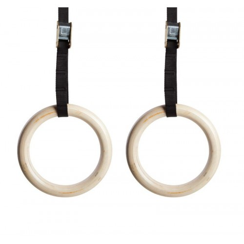 Wooden Gym Rings 28mm