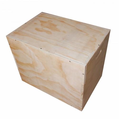 Wooden Plyo Box - Natural