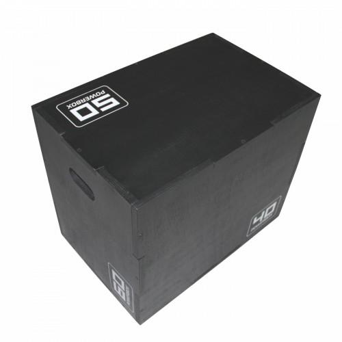 Wooden Plyo Box - Negro