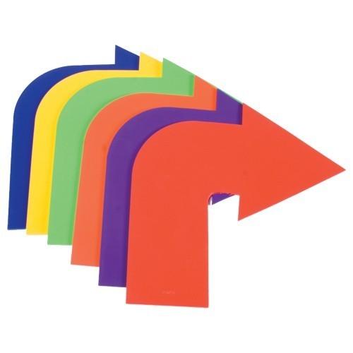 Corner Arrow Shape Marker.