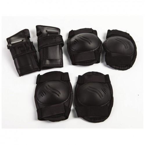 Set Elbow Knee - Protective Black