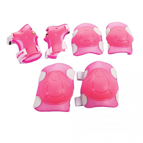Child Set knees, elbows, and protectors. Blue or Pink