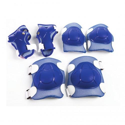 Juego Infantil De Rodilleras, Coderas, y Protectores. Azul o Rosa