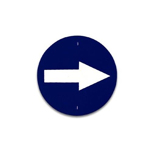 Traffic pannel- Prescribed left direction