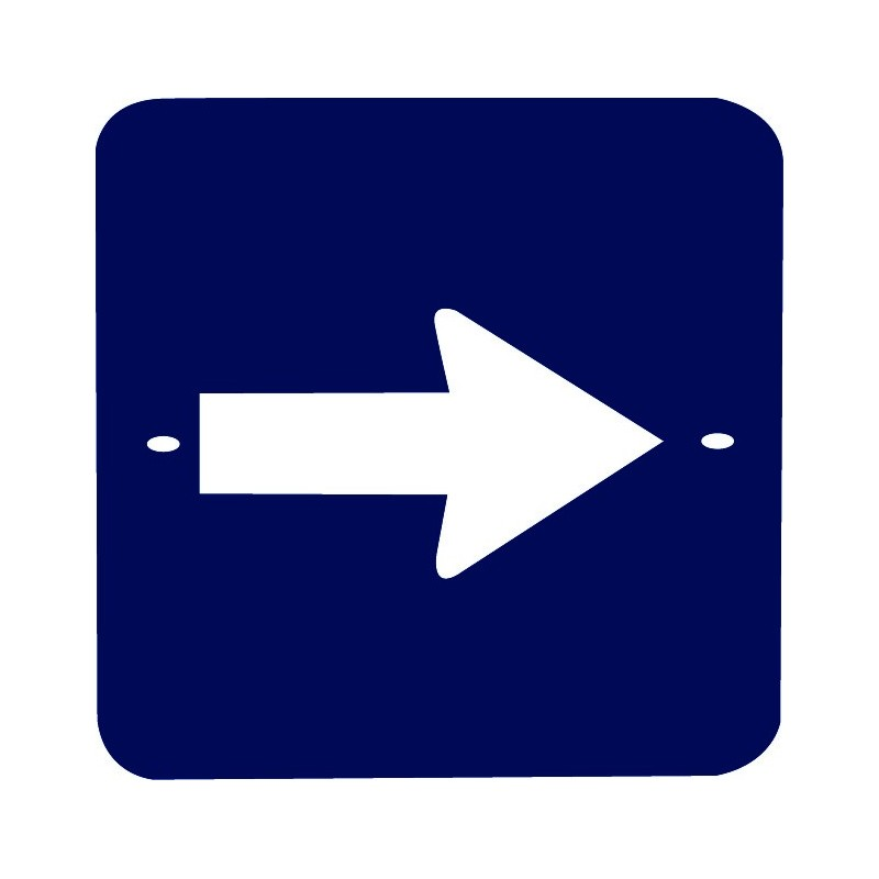 Traffic panel - Roundabout ahead