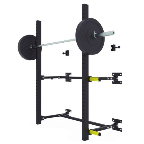 Squat rack de pared