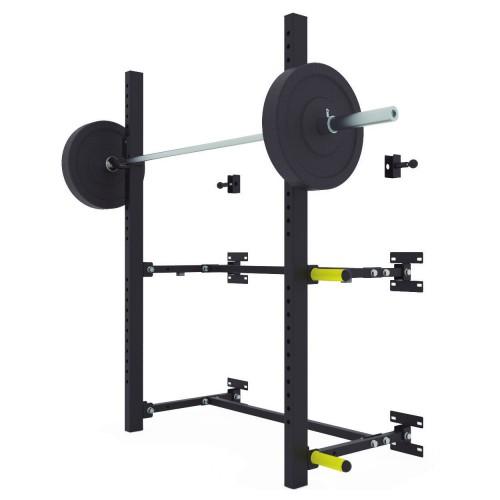 Wall squat rack