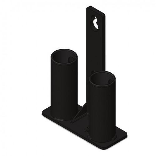 Soporte para barras en estructura