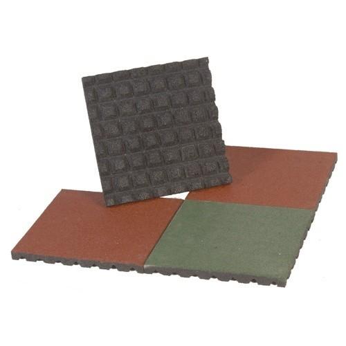 Rubber Tile 4 Cm. High. Set 4 Pcs.