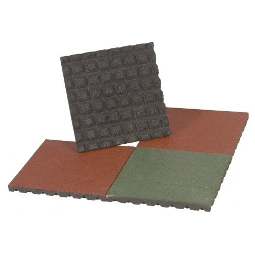 Rubber Tile 4 Cm. High. Set 4 Pcs.
