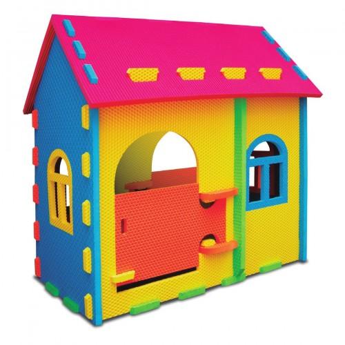 La casita multicolor
