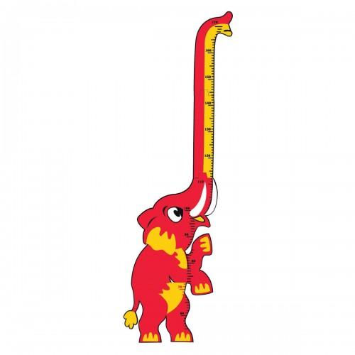 Elefante medición altura