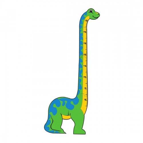 Dinosaurio medición altura