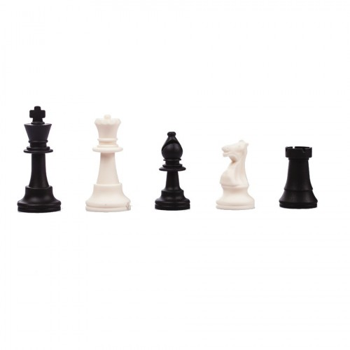 Soft chess pieces