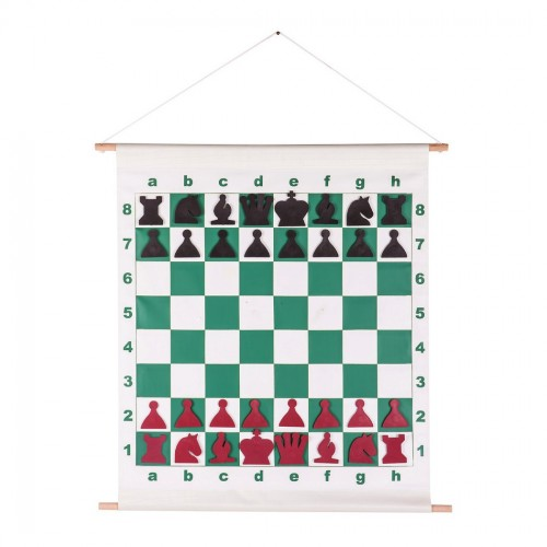 Magnetic chess demo board