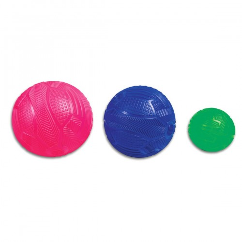 Grooved ball PVC