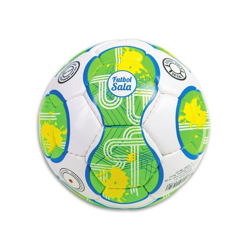"""Indoor football leather """"Soft touch"""" Ø 185 mm. 400 gr."""