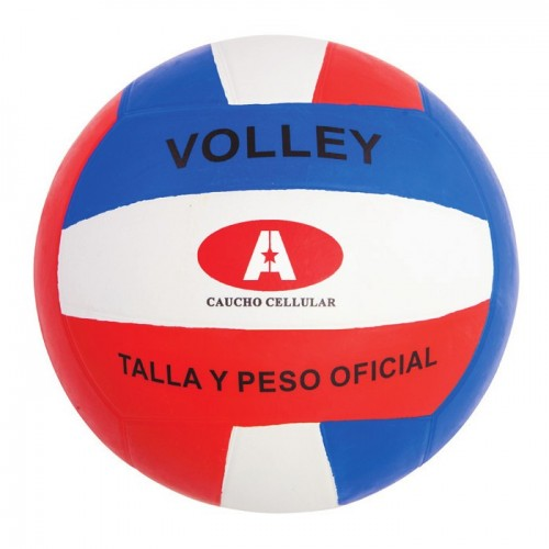 Volleyball multicolored Cellular rubber