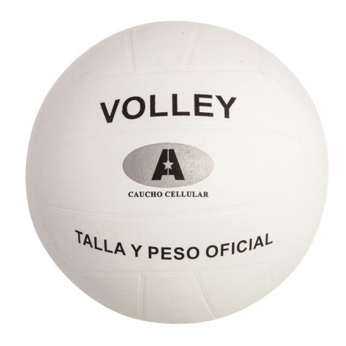 Volley Rubber Cellular White