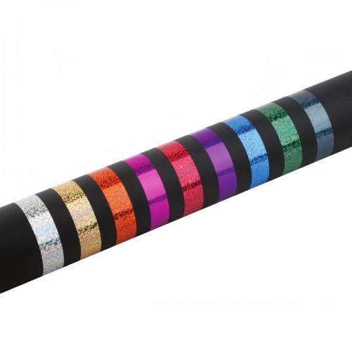 Coloured adhesive decoration tape Mod. New Purpurina
