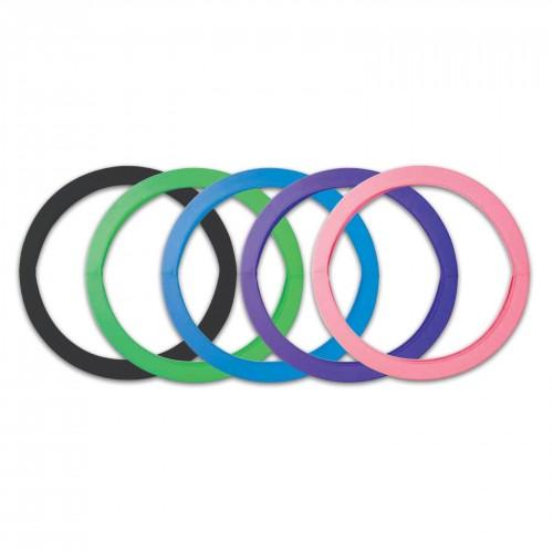 Elastic cover for hoop