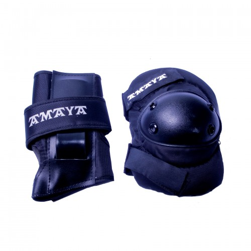 Set of kneepads, elbow patch and hand protectors