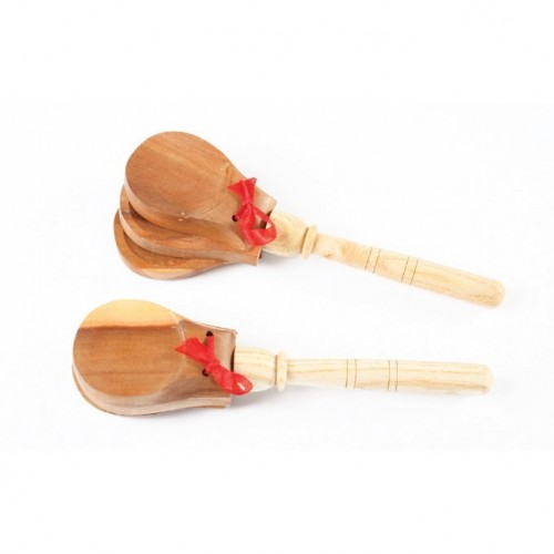 Wood Castnets With Handle
