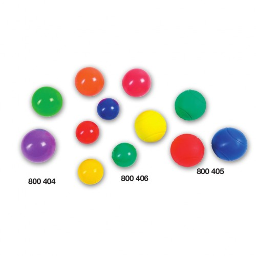 Foamed PVC ball Ø 55 mm. soft.