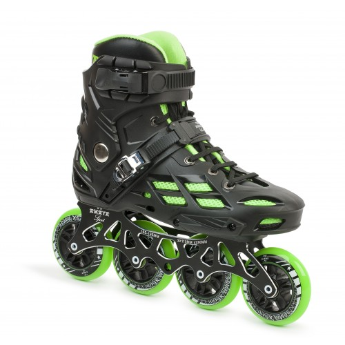 Inline Skate Freak Town Black/Green (4x90 & 3x110)