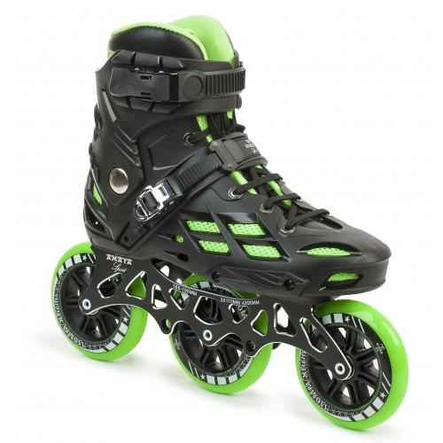 Inline Skate Freak Town Black/Green (4x90 & 3x110)