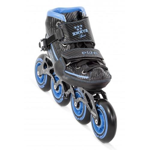 Patín Velocidad Élite Ajustable - Azul