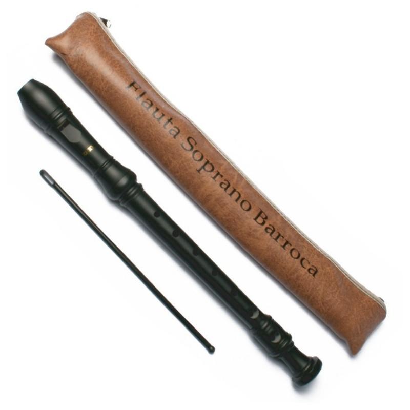 Flauta Soprano Barroca