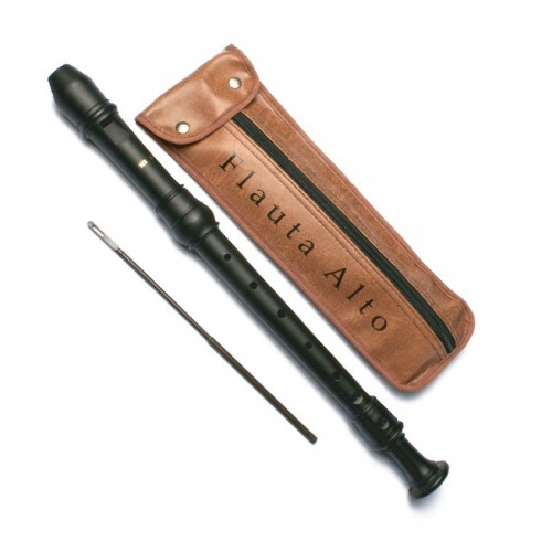 Flauta Alto, Barroca