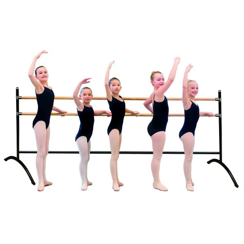 Double groupal ballet barre