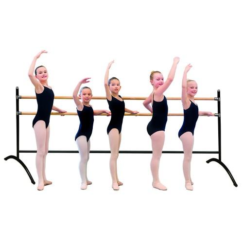 Double groupal ballet barre