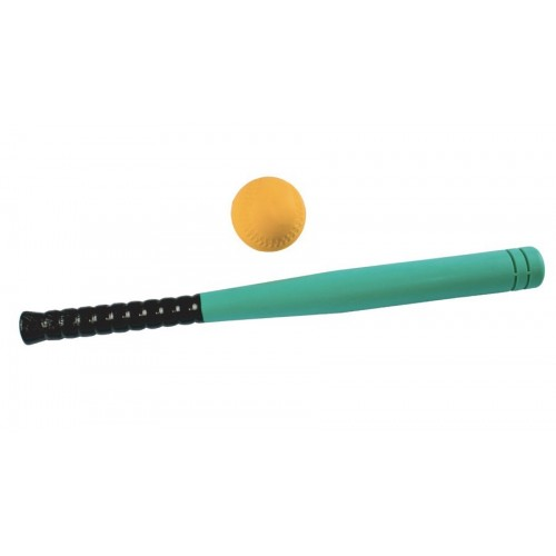 Bate y Pelota de Béisbol de Foam - 60 cm y 7 cm