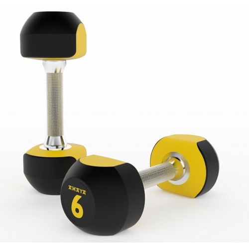 URETHANE TWO-TONE DUMBBELLS