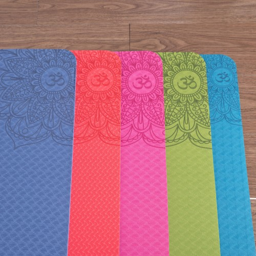 TWO-TONE T.P.E. YOGA MAT