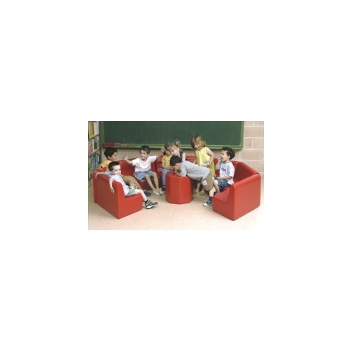 Round Kiddy Furniture Set