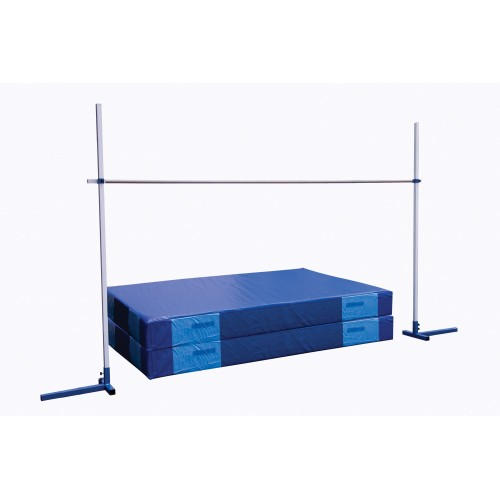 Saltómetro escolar 2,5 m con bases contrapesadas