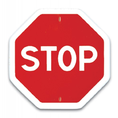 Traffic panel- Stop