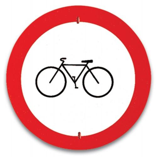 Traffic panel - No cycling