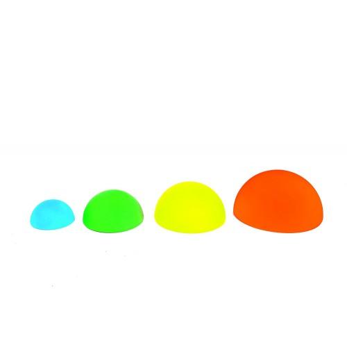 Semiesferas Gigantes de equilibrio