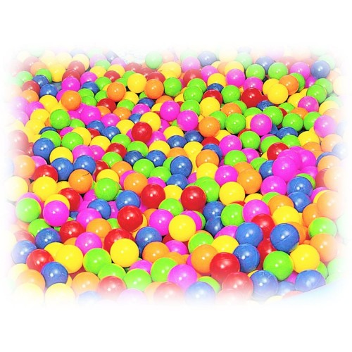 Sensorial Pool Ball Ø75 Mm - Assorted Colours Box 600 Pcs